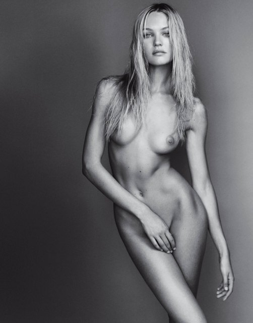 Candice Swanepoel Nude by Mario Testino