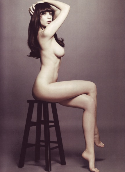 Daisy Lowe nude by Solve Sundsbo for I.D. Magazine