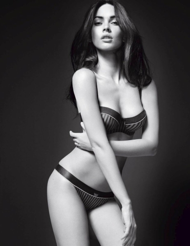 Megan Fox in underwear by Mert Alas & Marcus Piggott