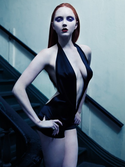 Lily Cole by Mario Sorrenti