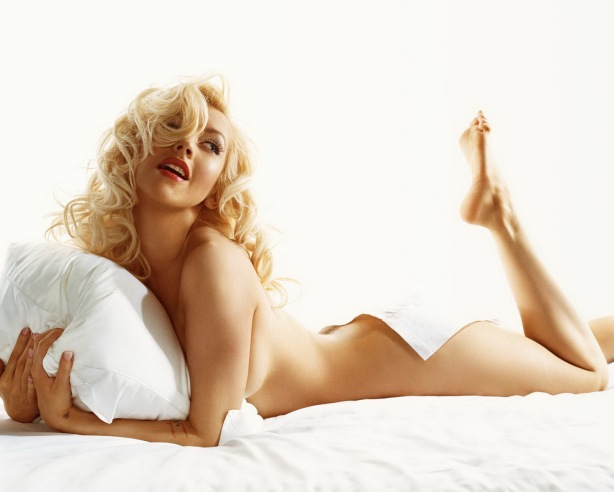 Christina Aguilera by Michael Thompson