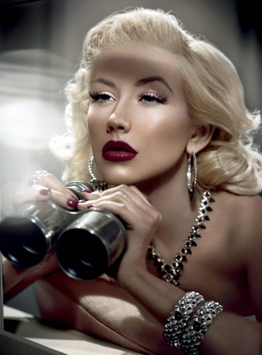 Christina Aguilera by Vincent Peters