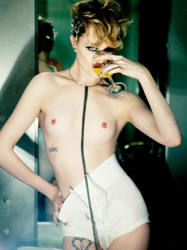 Evan Rachel Wood nude by Ellen von Unwerth
