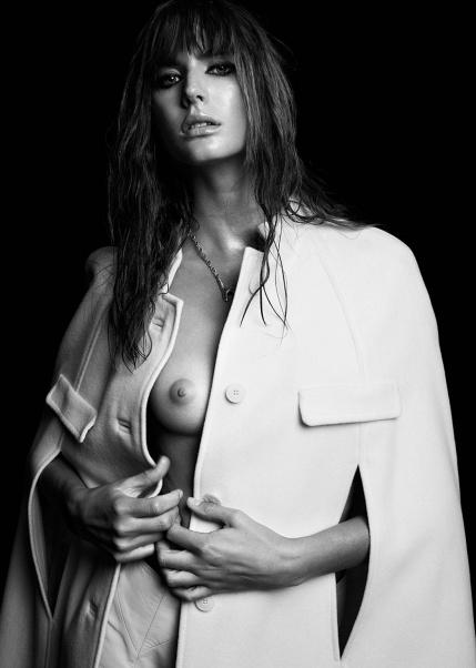 Siri Crafoord topless by Fredrik Wannerstedt
