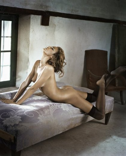 Irina Shayk nude by Vincent Peters