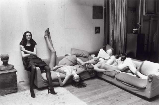 Mariecarla Boscono, Elle, Jessica Robertson and Anja Gildum by Terry Richardson
