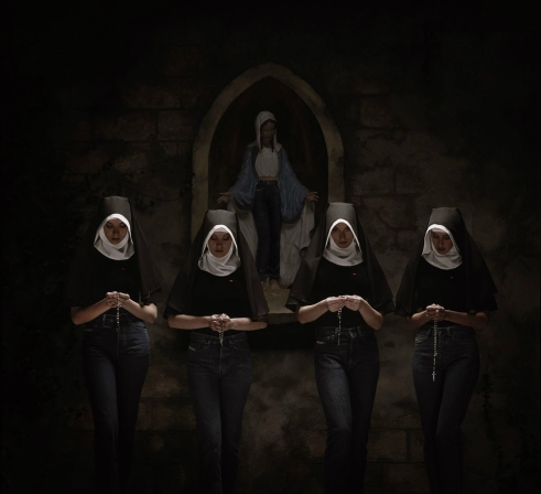 Nuns Photo by Erwin Olaf for Diesel Jeans