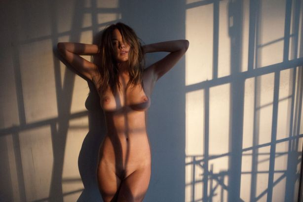 Camille Rowe nude by Terry Richardson