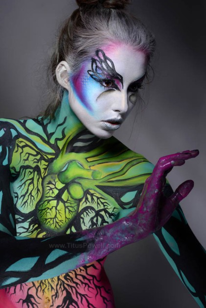 Bodypaint by Titus Powell