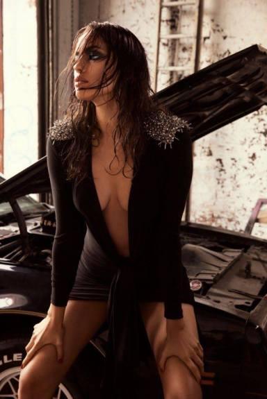 Irina Shayk by David Roemer