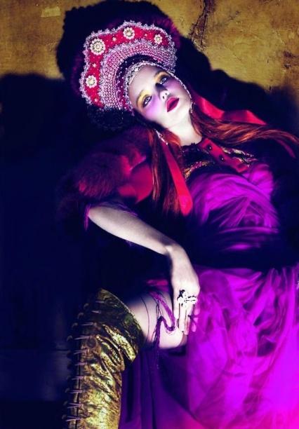 Natalia Vodianova by Mert Alas & Marcus Piggott