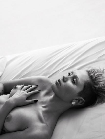 Miley Cyrus nude by Mert Alas & Marcus Piggott