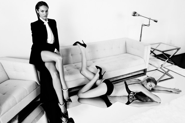 Candice Swanepoel & Martha Hunt by Paola Kudacki
